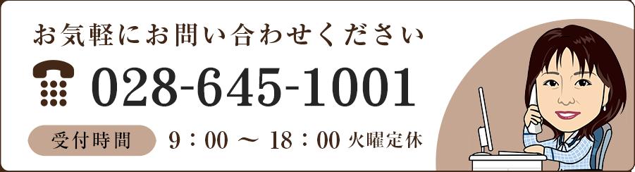 TEL:028-645-1001